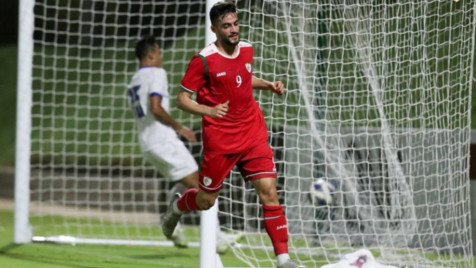 Đối thủ của ĐT Việt Nam ghi 7 bàn trong trận giao hữu
