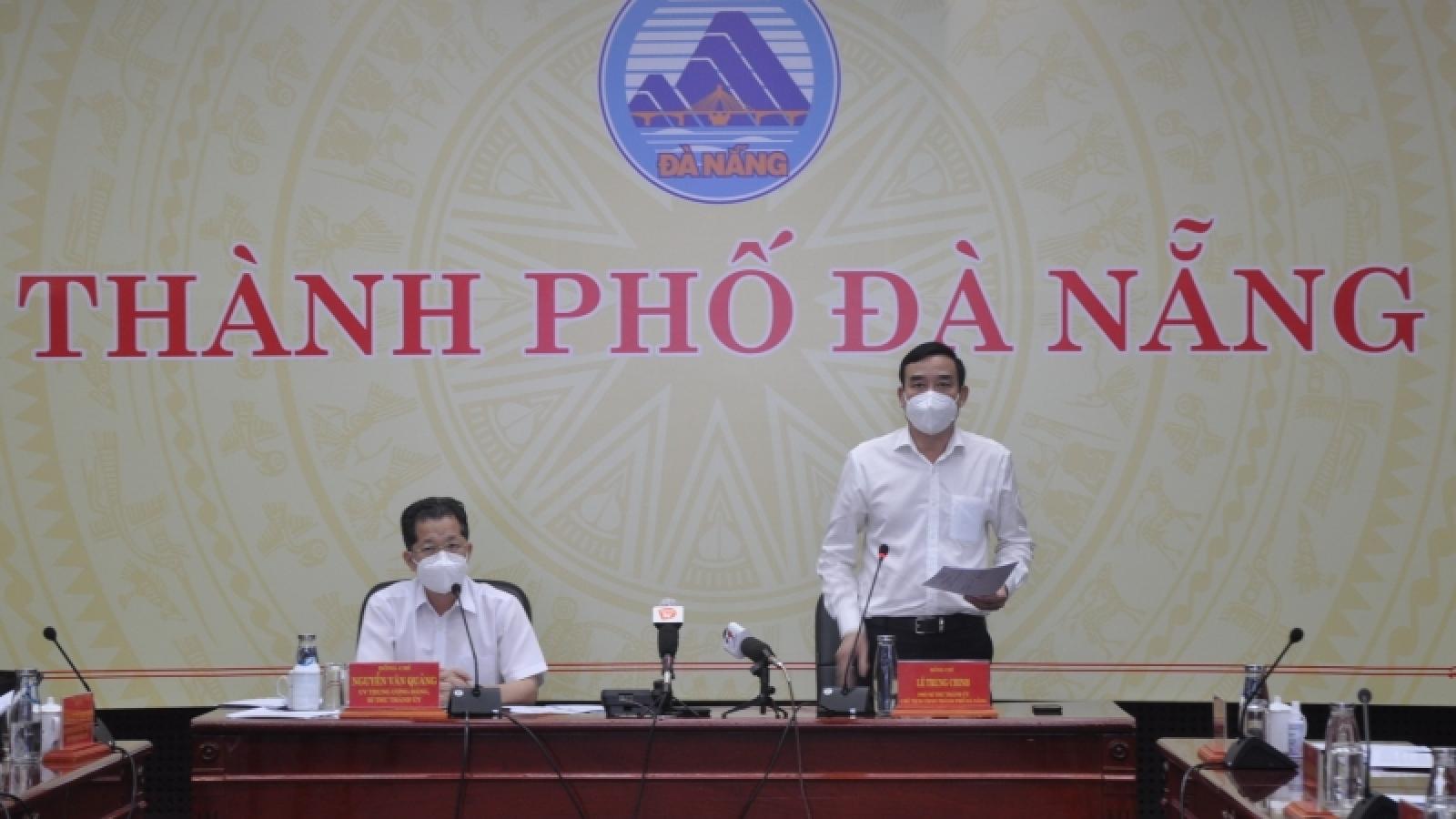 Lãnh đạo thành phố Đà Nẵng họp bàn phương án phòng chống dịch trong giai đoạn tới
