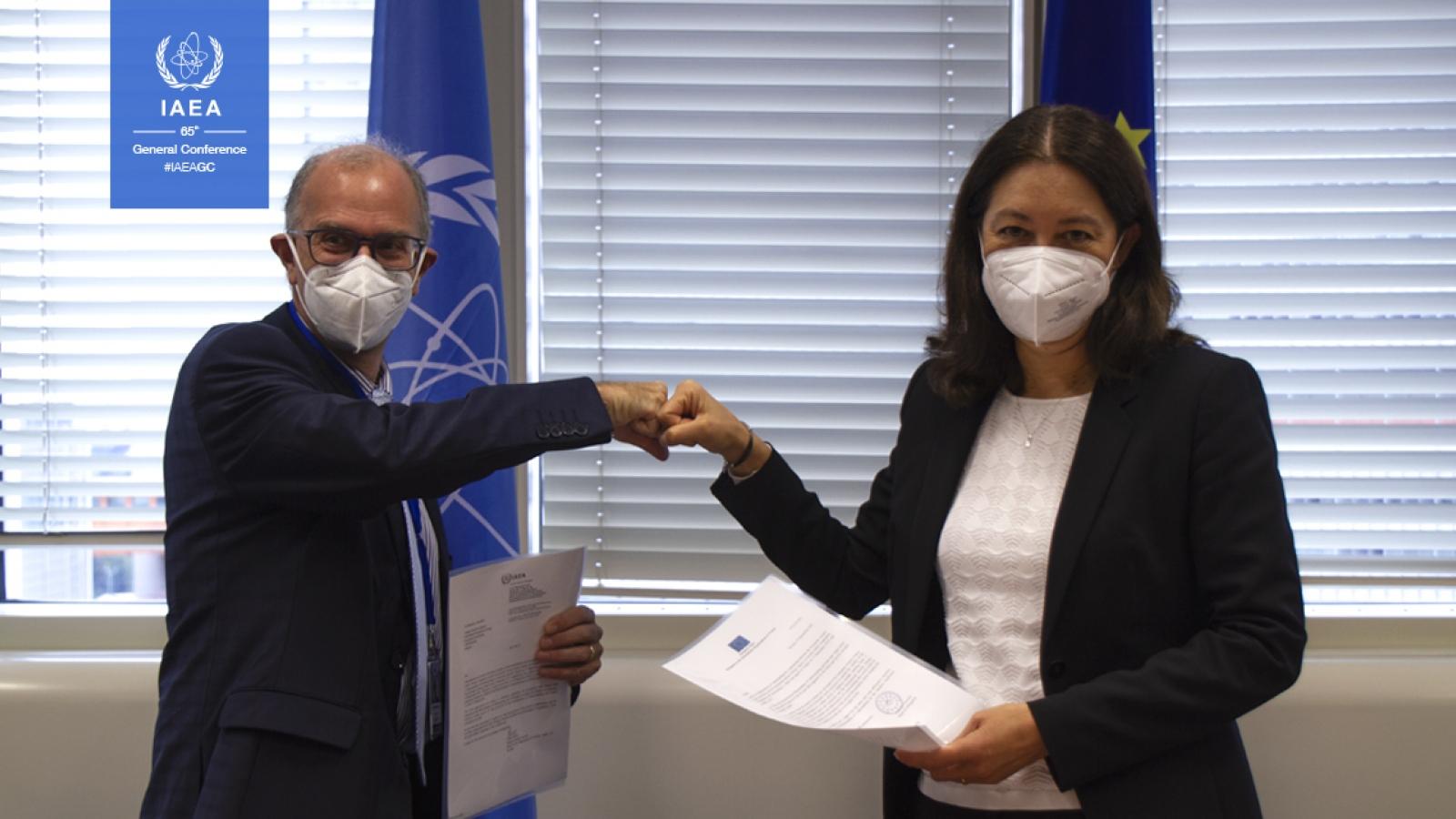IAEA và Liên minh Châu Âu mở rộng hợp tác về an toàn hạt nhân