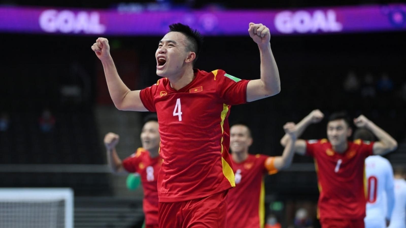 Hành trình lọt vào vòng knock-out World Cup của ĐT Futsal Việt Nam