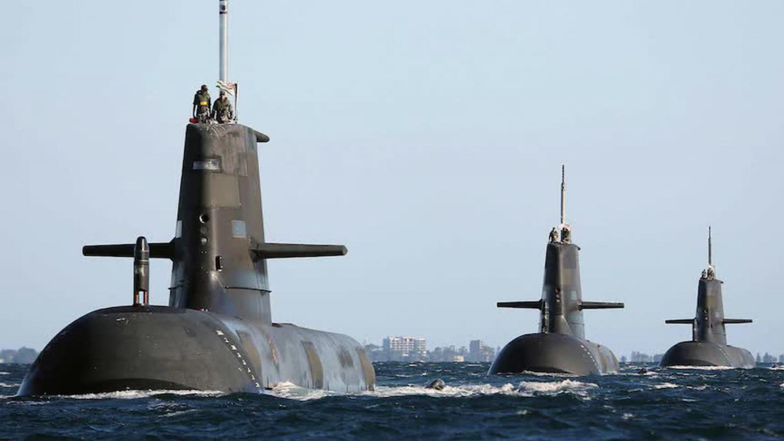 Tiết lộ các cuộc đàm phán bí mật dẫn tới thỏa thuận tàu ngầm hạt nhân giữa Australia và Mỹ