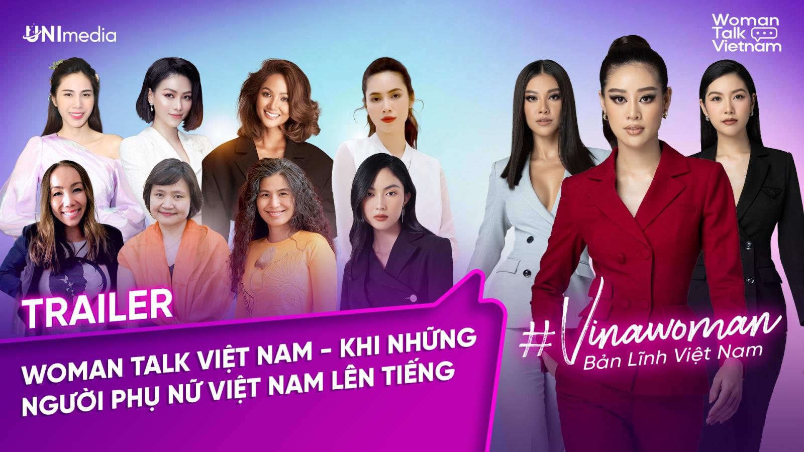 """Dàn khách mời đình đám hội tụ trong """"Vinawoman - Bản lĩnh Việt Nam"""""""