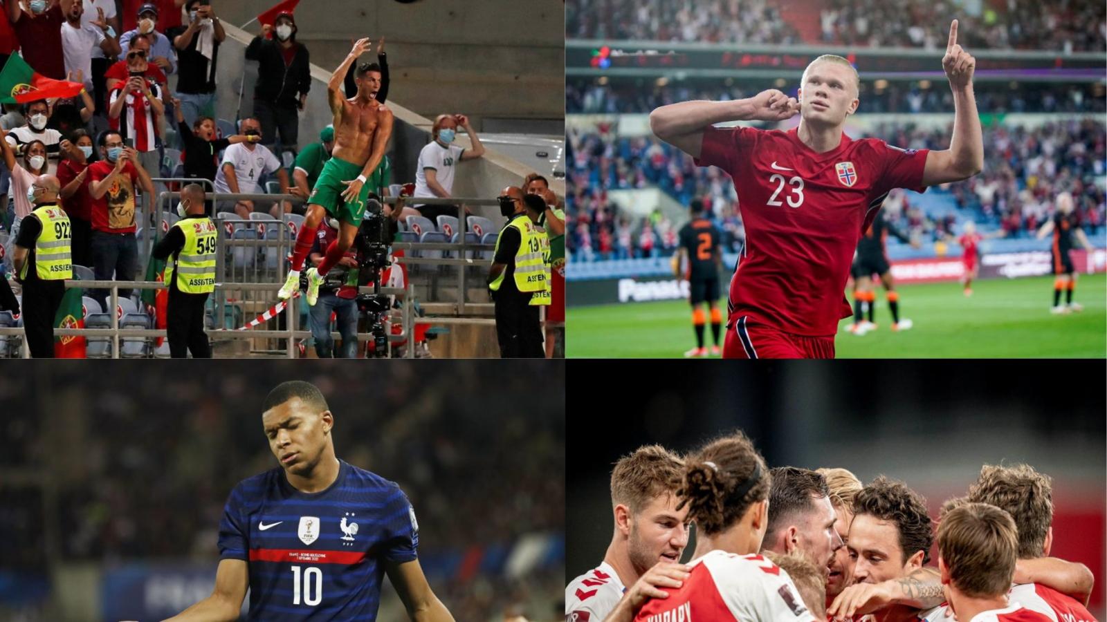 Kết quả vòng loại World Cup 2022 khu vực châu Âu (2/9): Ronaldo, Haaland thăng hoa