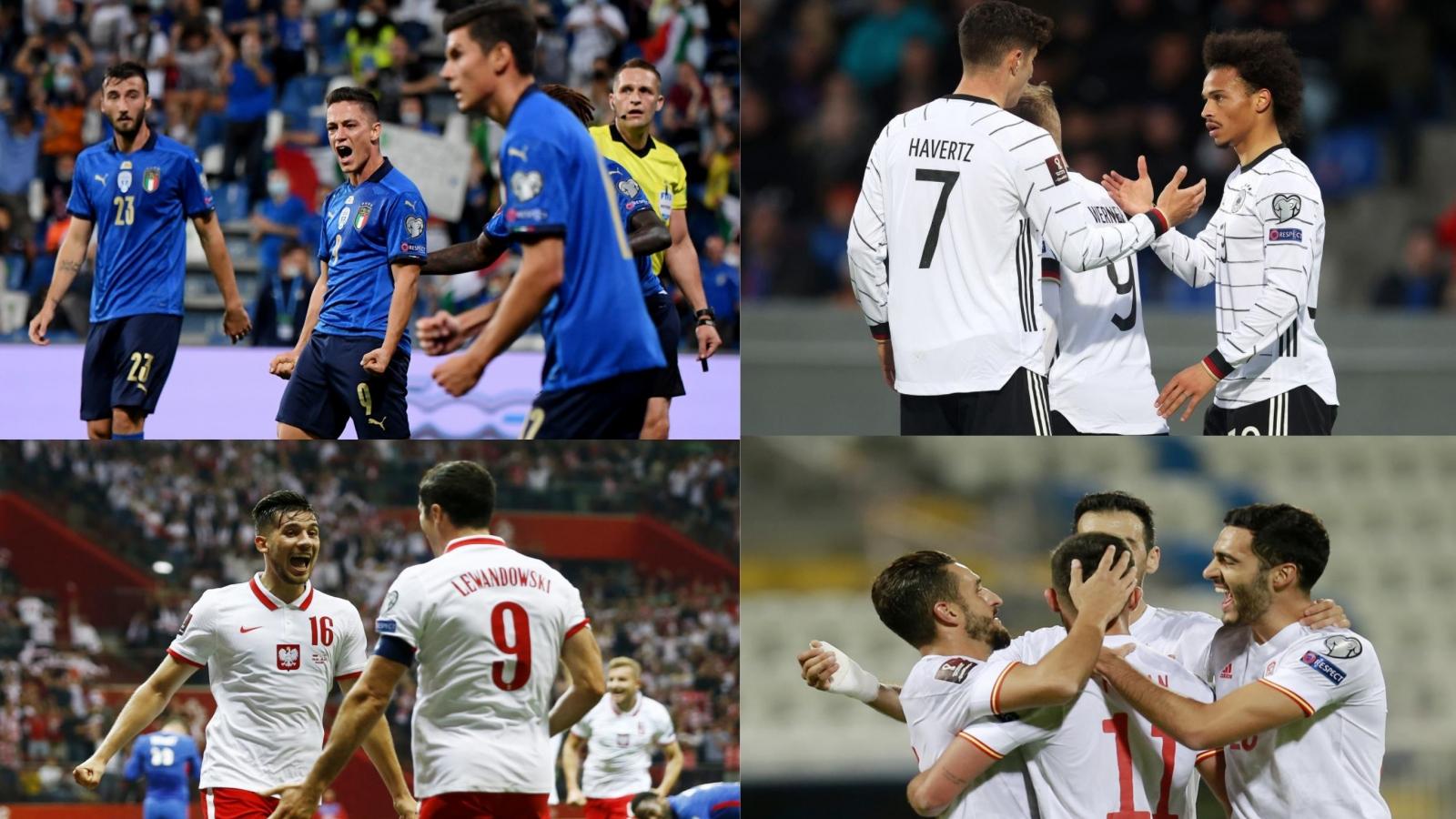 Kết quả vòng loại World Cup 2022 khu vực châu Âu (9/9): Italia và Đức đại thắng
