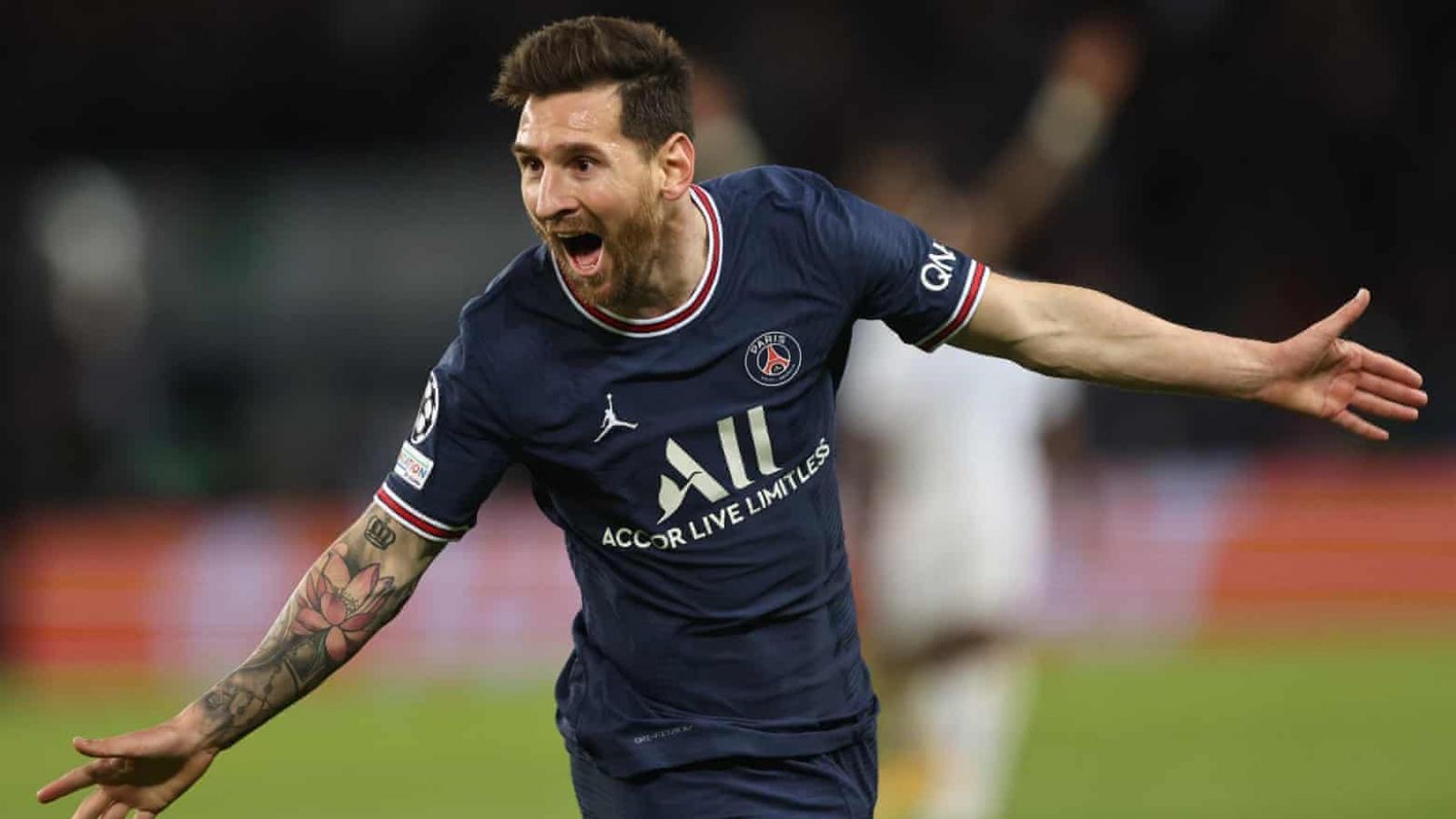 """Messi """"mở tài khoản"""" bàn thắng, PSG hạ gục Man City"""