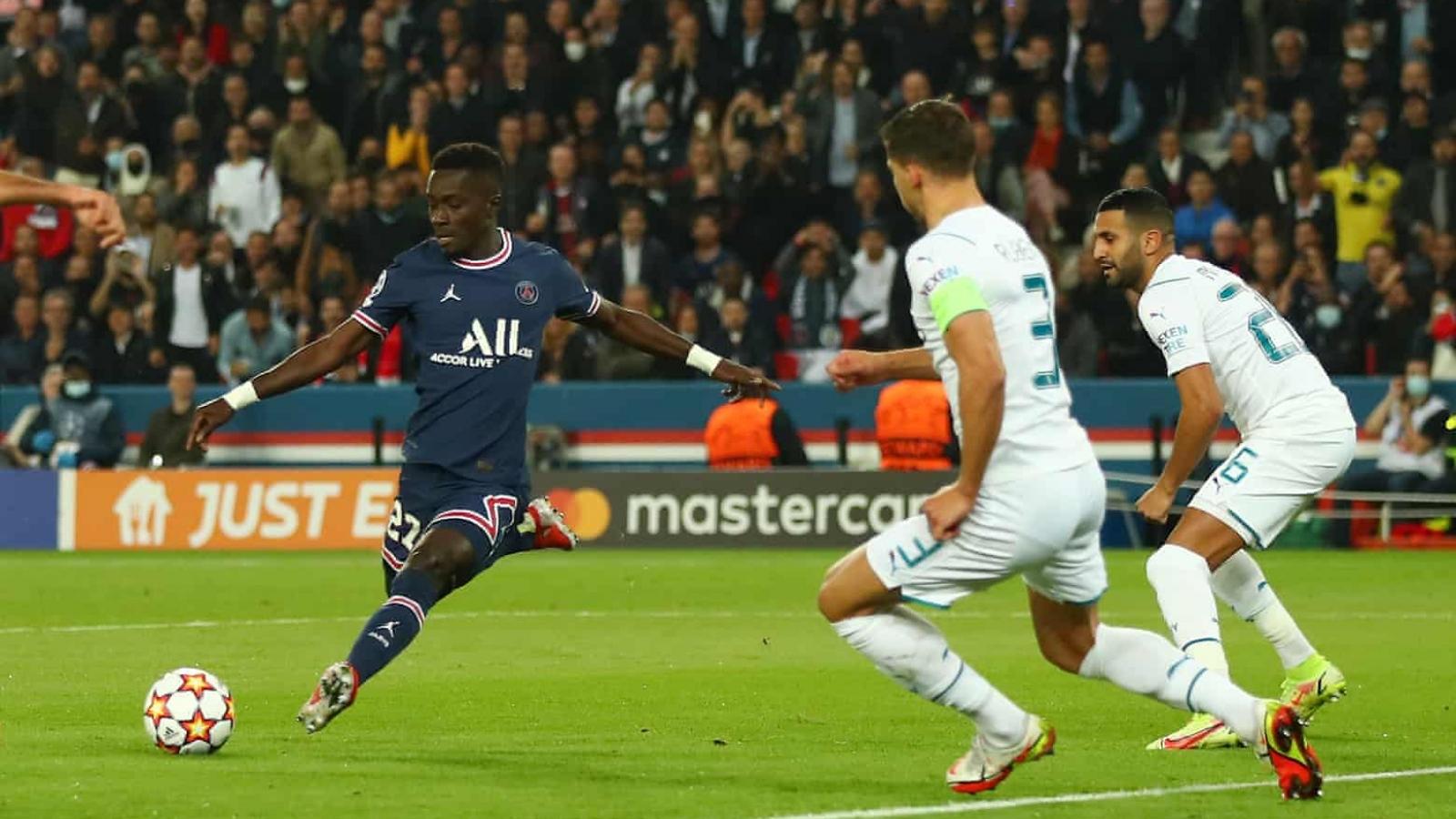 TRỰC TIẾP PSG 1-0 Man City: Gueye sớm ghi bàn mở tỷ số