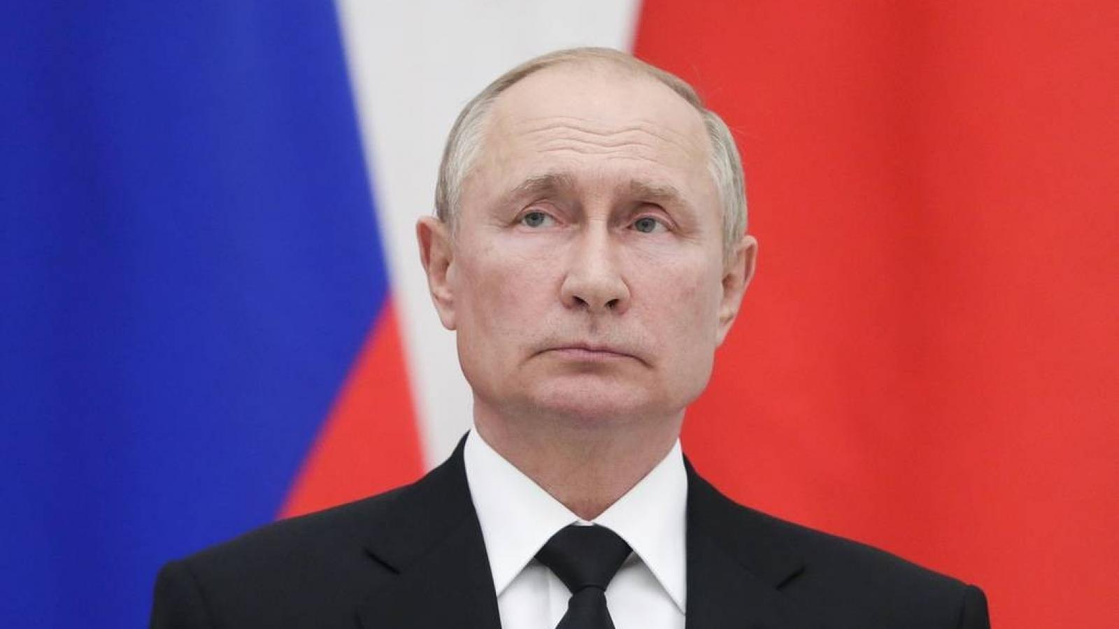 Tổng thống Putin: Nga cần làm việc với chính phủ của Taliban