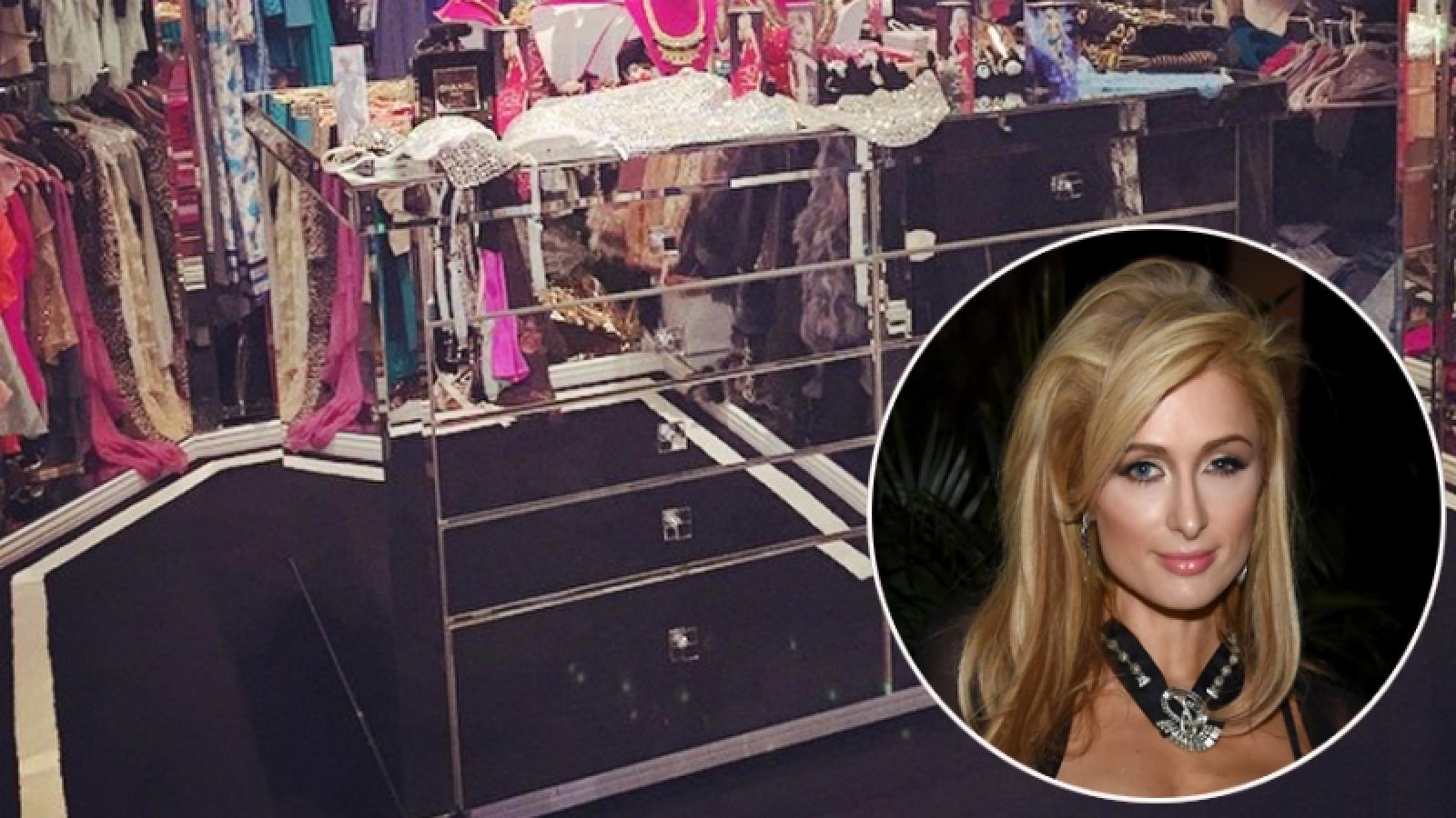 """""""Đột nhập"""" phòng để quần áo sang chảnh của các sao Hollywood"""