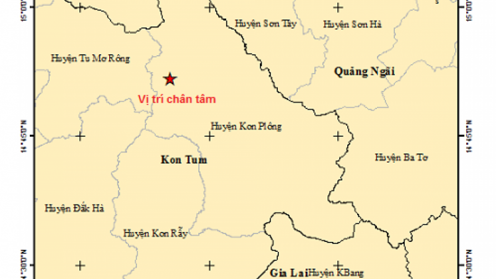 Two minor quakes jolt Central Highlands province