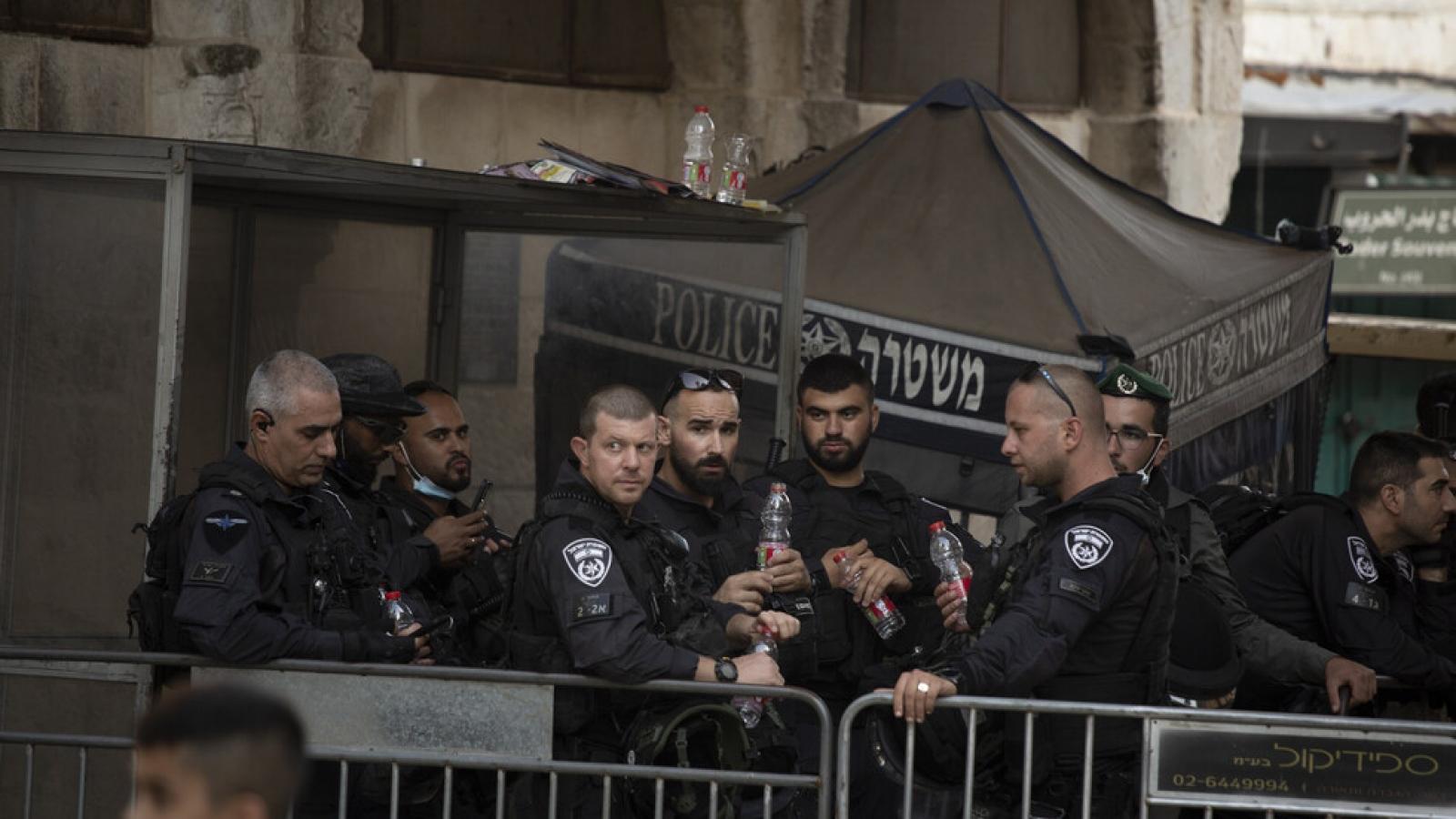 Israel nâng cao báo động ở bờ Tây trong kỳ nghỉ lễ của người Do Thái