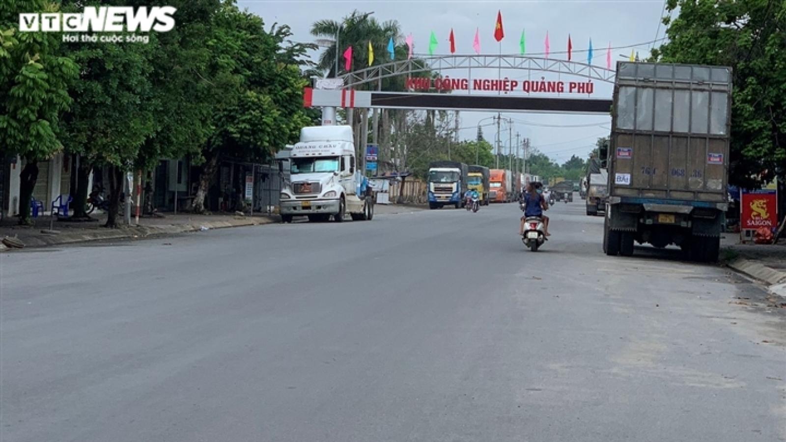 Quảng Ngãi phát sinh ổ dịch mới ở KCN Quảng Phú