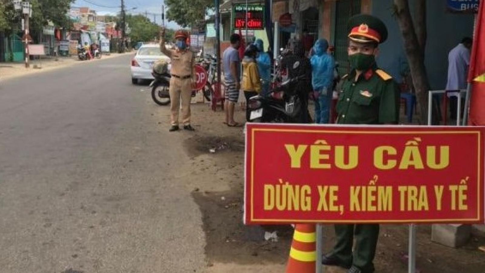 Quảng Nam bác thông tin dừng tiếp nhận hàng hóa tại chốt kiểm soát giáp Đà Nẵng