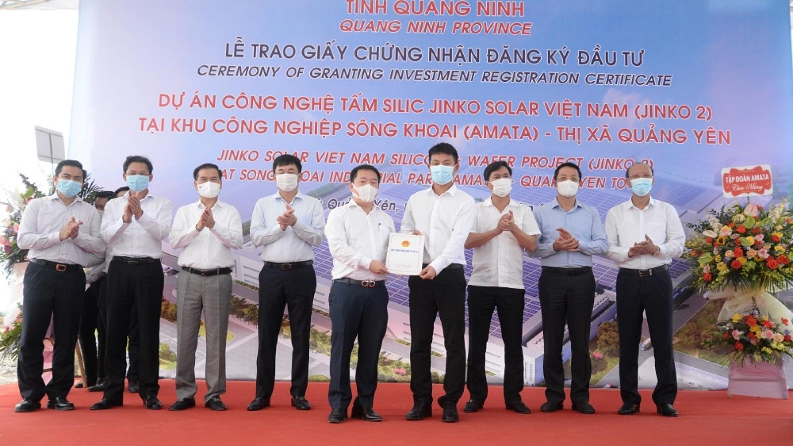 Thêm dự án 365 triệu USD đầu tư tại Khu công nghiệp Sông Khoai, Quảng Ninh