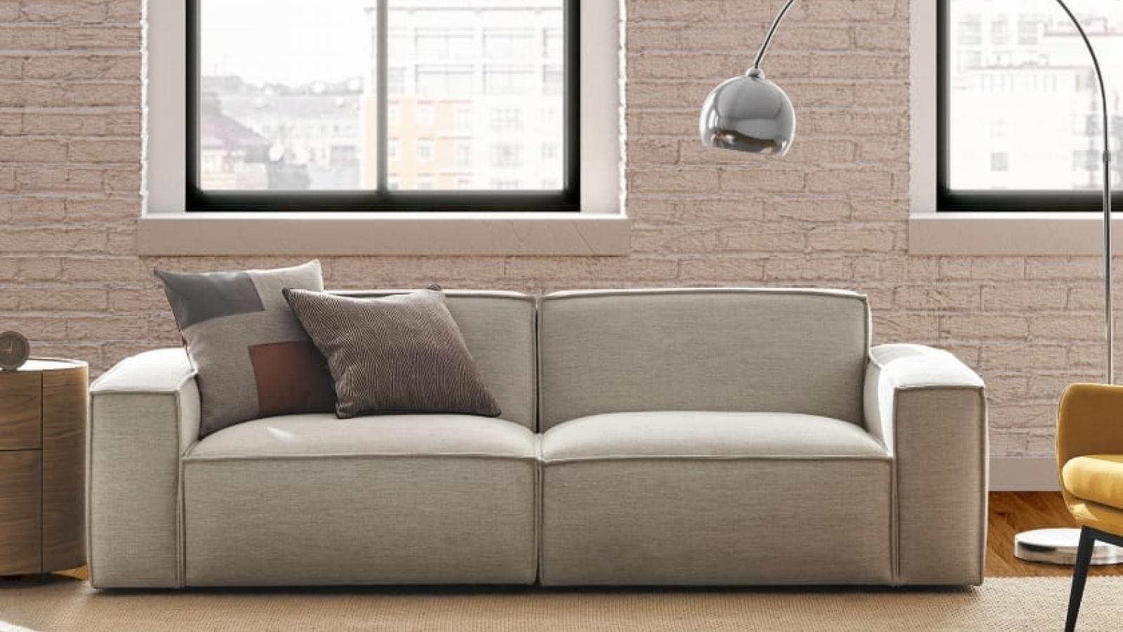 Chọn sofa có kích thước phù hợp cho không gian nhỏ mùa thu đông