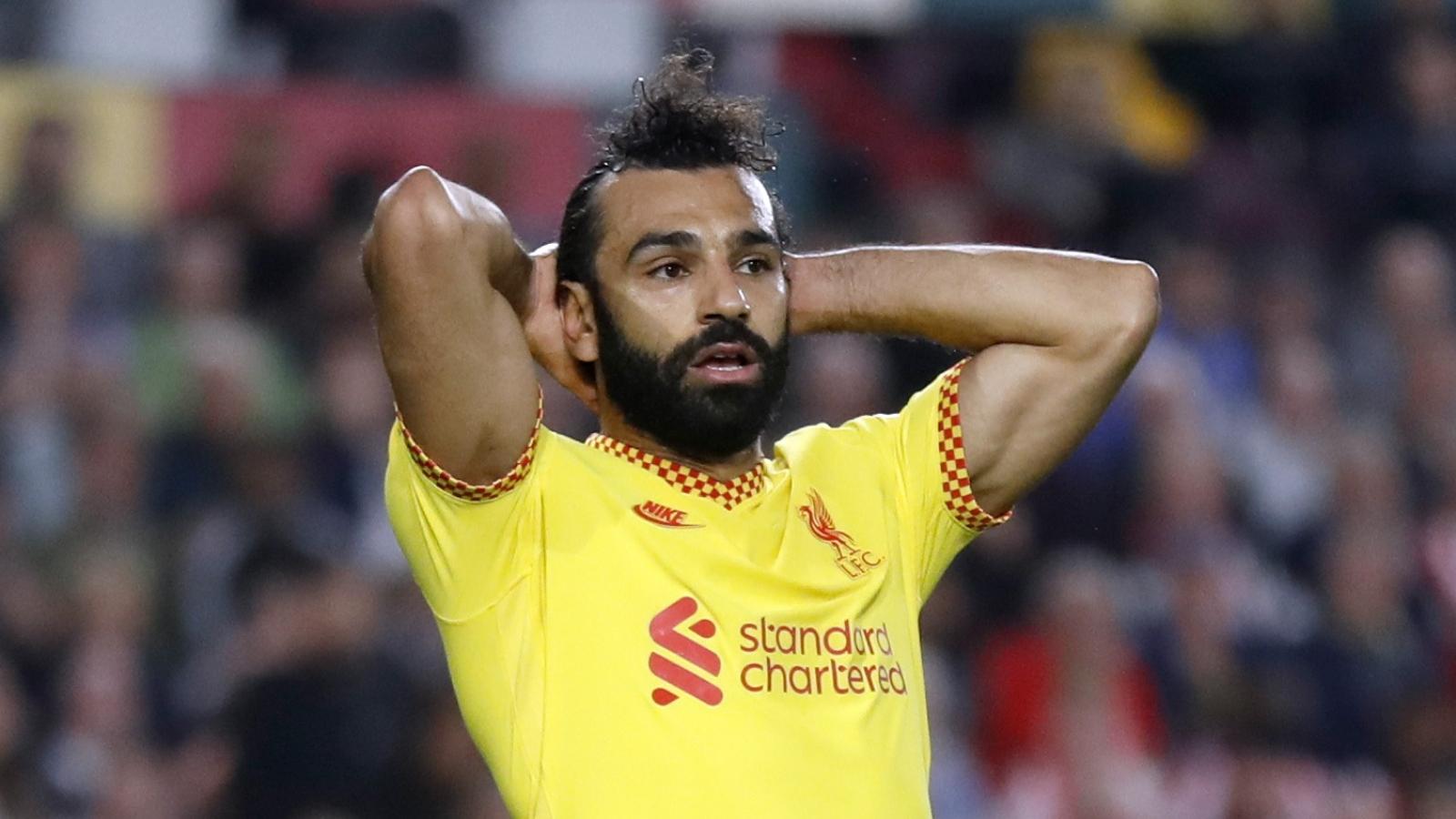 Salah lập công, Liverpool vẫn bị tân binh Brentford cầm hòa