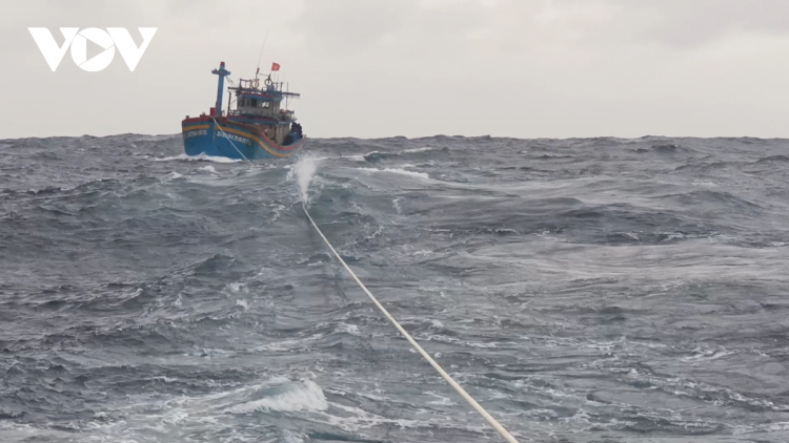 23 tàu cá đang chủ động di chuyển tránhkhu vực nguy hiểm của bão số 6