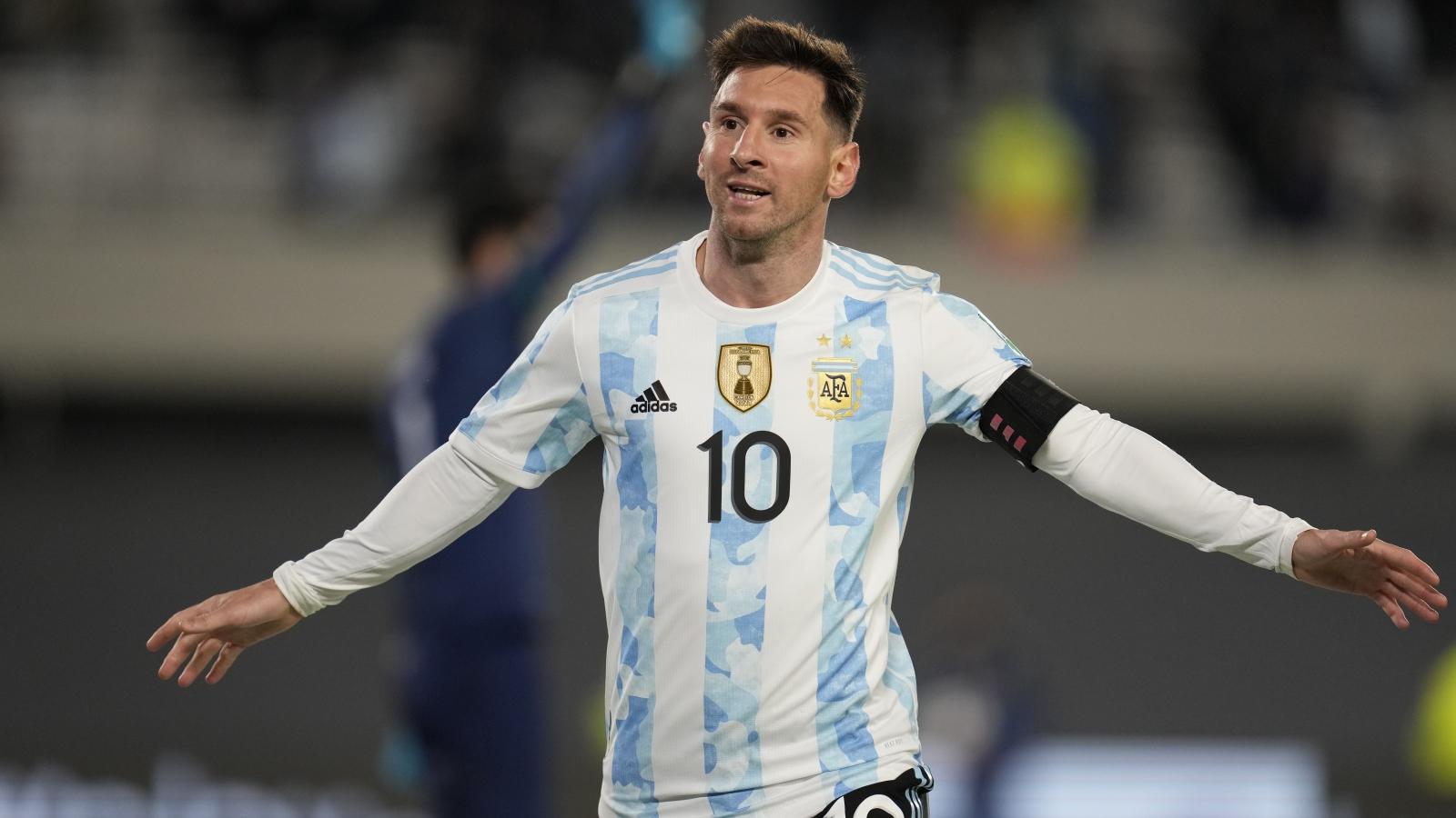 Messi ghi hat-trick, Argentina dễ dàng thắng Bolivia ở vòng loại World Cup 2022