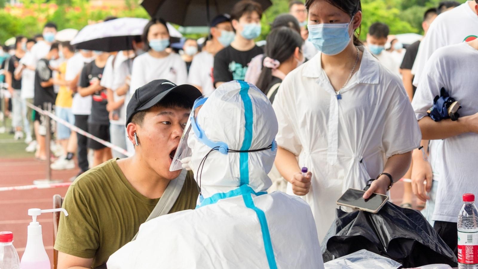 Trung Quốc xét nghiệm tất cả trường học ở Phúc Kiến vì dịch Covid-19