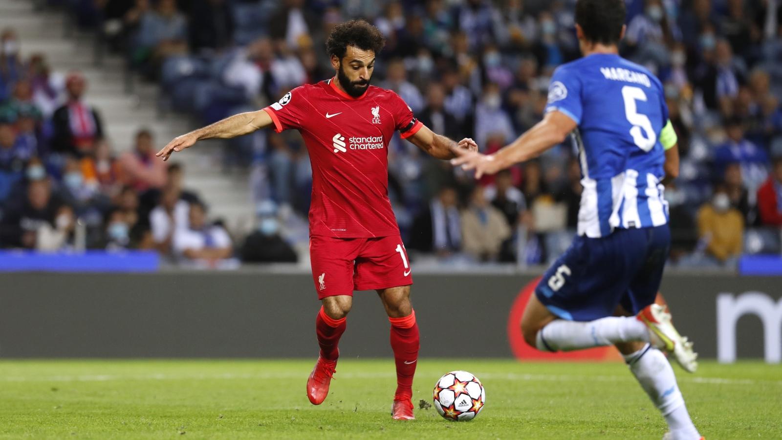 """Salah lập cú đúp, Liverpool """"đại thắng"""" Porto"""