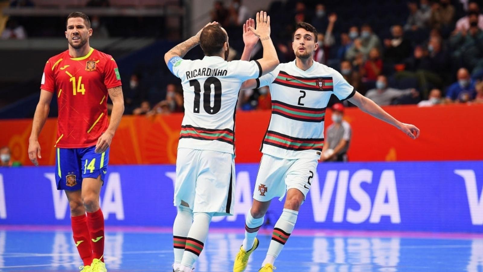 Đội bóng số 1 thế giới bị loại ở tứ kết Futsal World Cup 2021