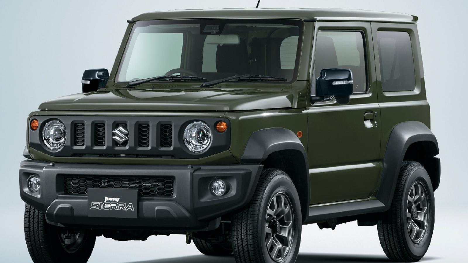 Suzuki Jimny được nâng cấp nhẹ tại thị trường Nhật Bản