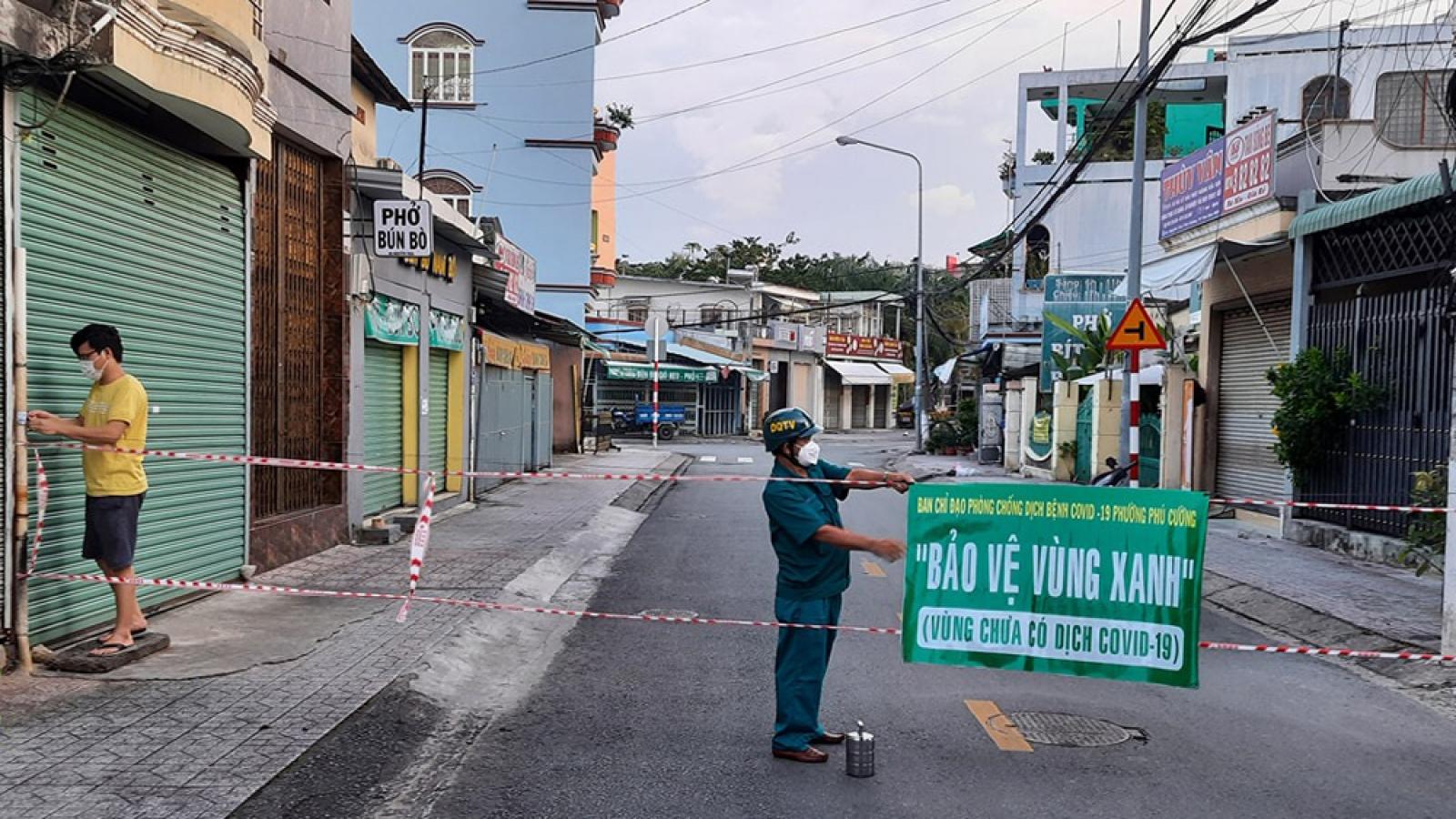 Cơ sở ăn uống, siêu thị ở TP. Thủ Dầu Một, tỉnh Bình Dương được phép mở cửa trở lại