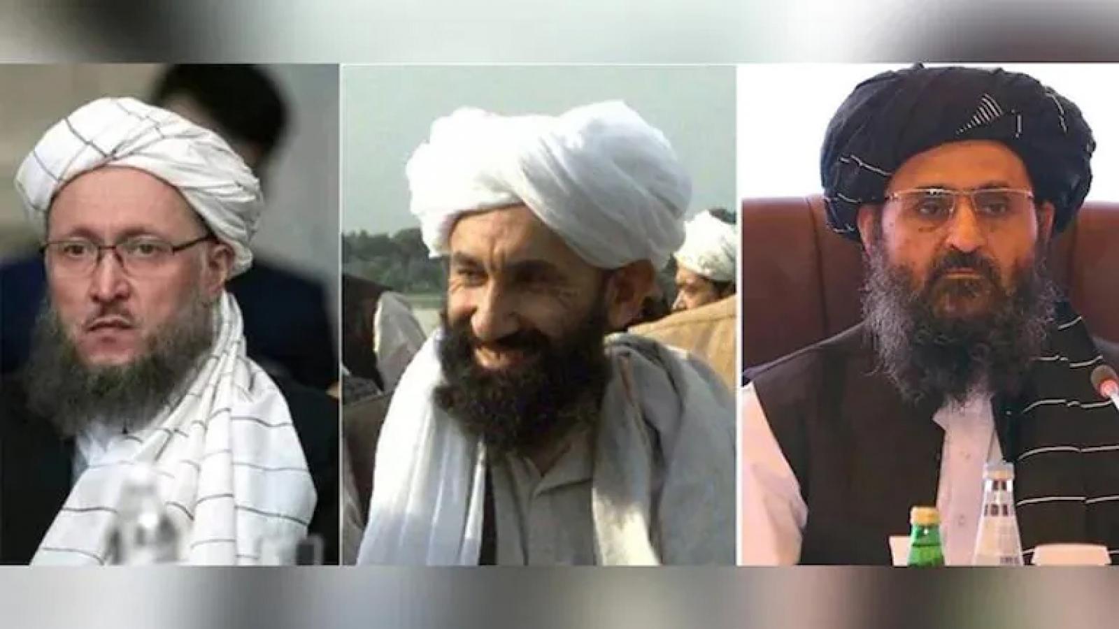 Những nhân vật chủ chốt trong chính phủ mới của Taliban tại Afghanistan
