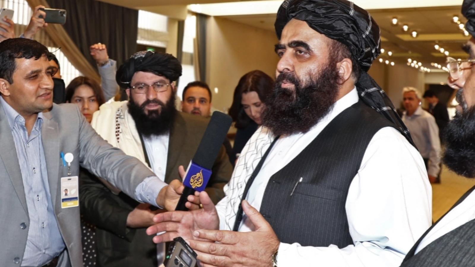 Taliban cảm ơn thế giới đã cam kết viện trợ cho Afghanistan
