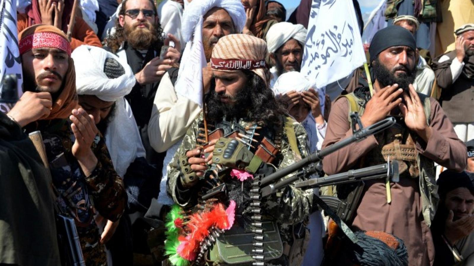 Taliban tính đòi Mỹ bồi thường thiệt hại gây ra với người dân Afghanistan