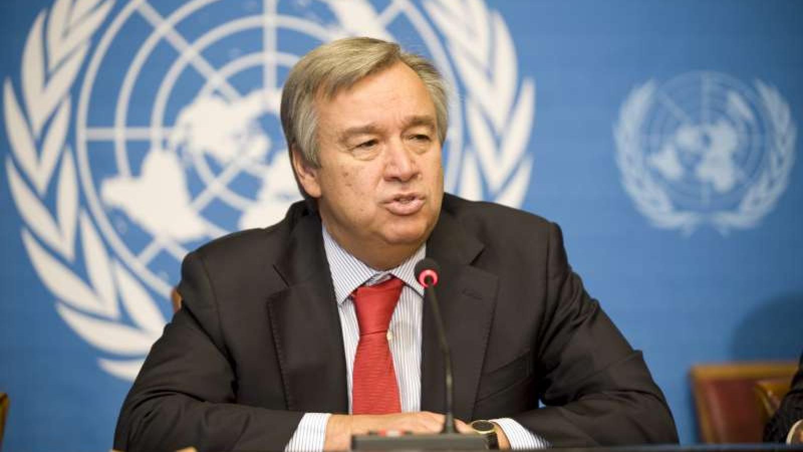 Tổng thư ký Liên Hợp Quốckêu gọi Mỹ -Trung Quốc tránh chiến tranh lạnh