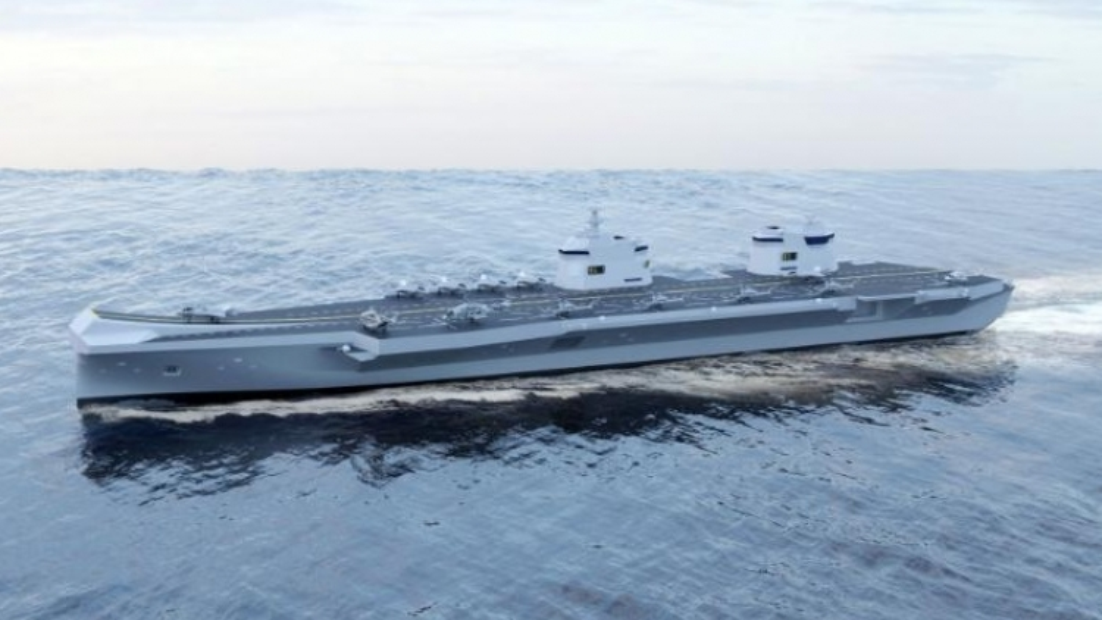 Tàu sân bay mới của Hàn Quốc có thể sẽ giống chiến hạm HMS Queen Elizabeth của Anh