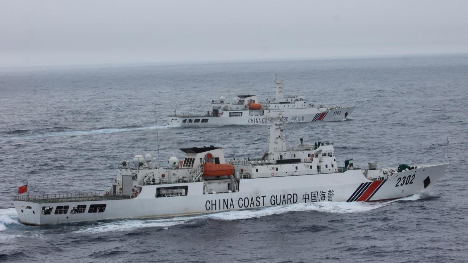 """Mỹ gọi quy định hàng hải mới của Trung Quốc ở Biển Đông là """"mối đe dọa nghiêm trọng"""""""