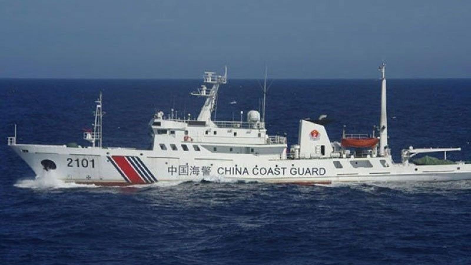 Chuyên gia quốc tế: Luật hàng hải của Trung Quốc mơ hồ, tính hợp pháp rất hạn chế