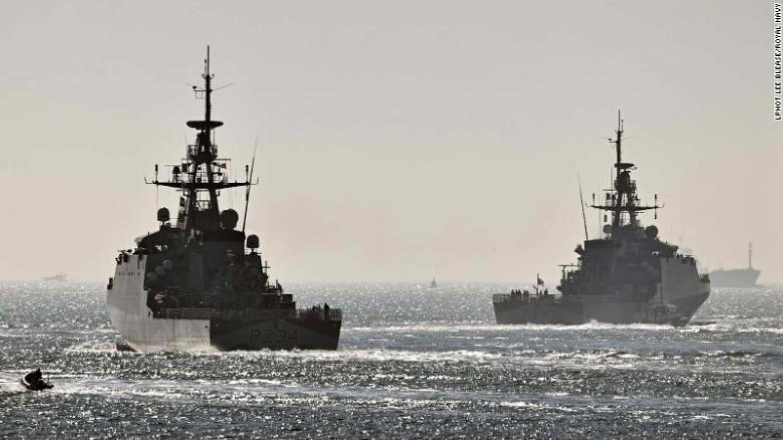 Hai tàu chiến Anh rời cảng đến Ấn Độ Dương-Thái Bình Dương trong 5 năm