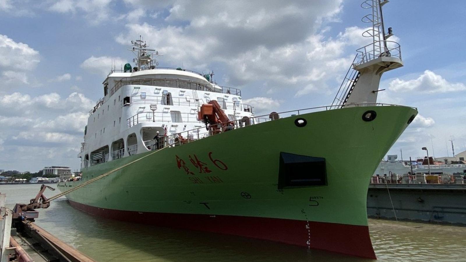Trung Quốc đưa tàu khảo sát tới Biển Đông