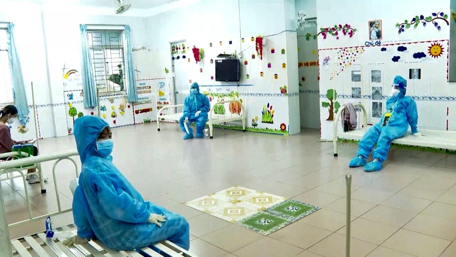 Bà Rịa - Vũng Tàu đón 24 thai phụ từ TP.HCM về địa phương