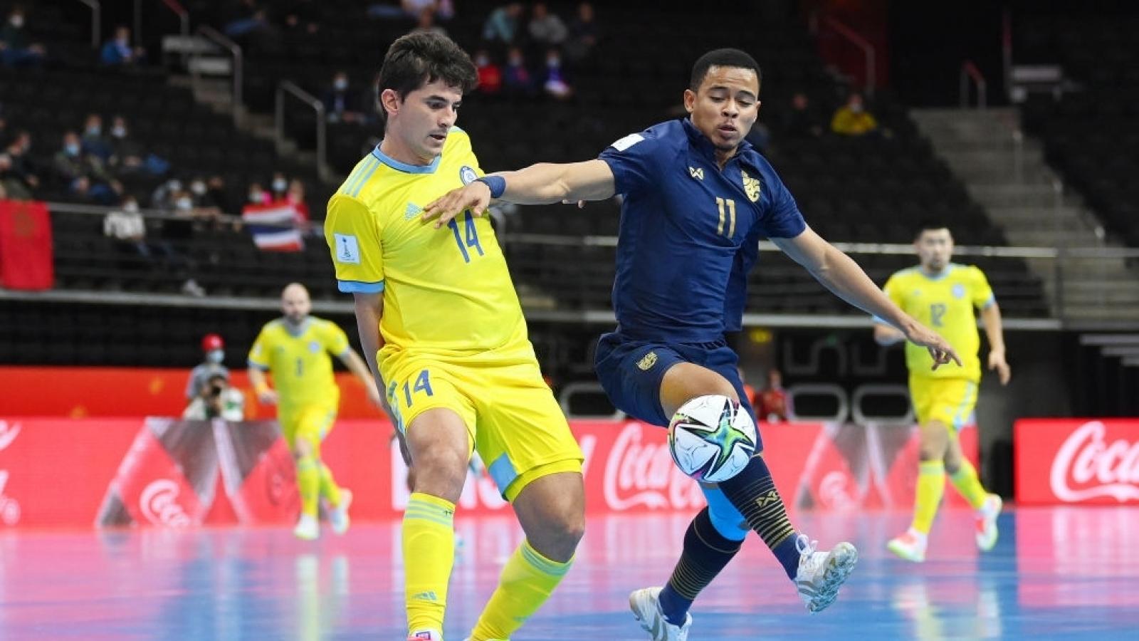 Futsal World Cup 2021: Thái Lan dừng bước, Nhật Bản gây khó dễ Brazil