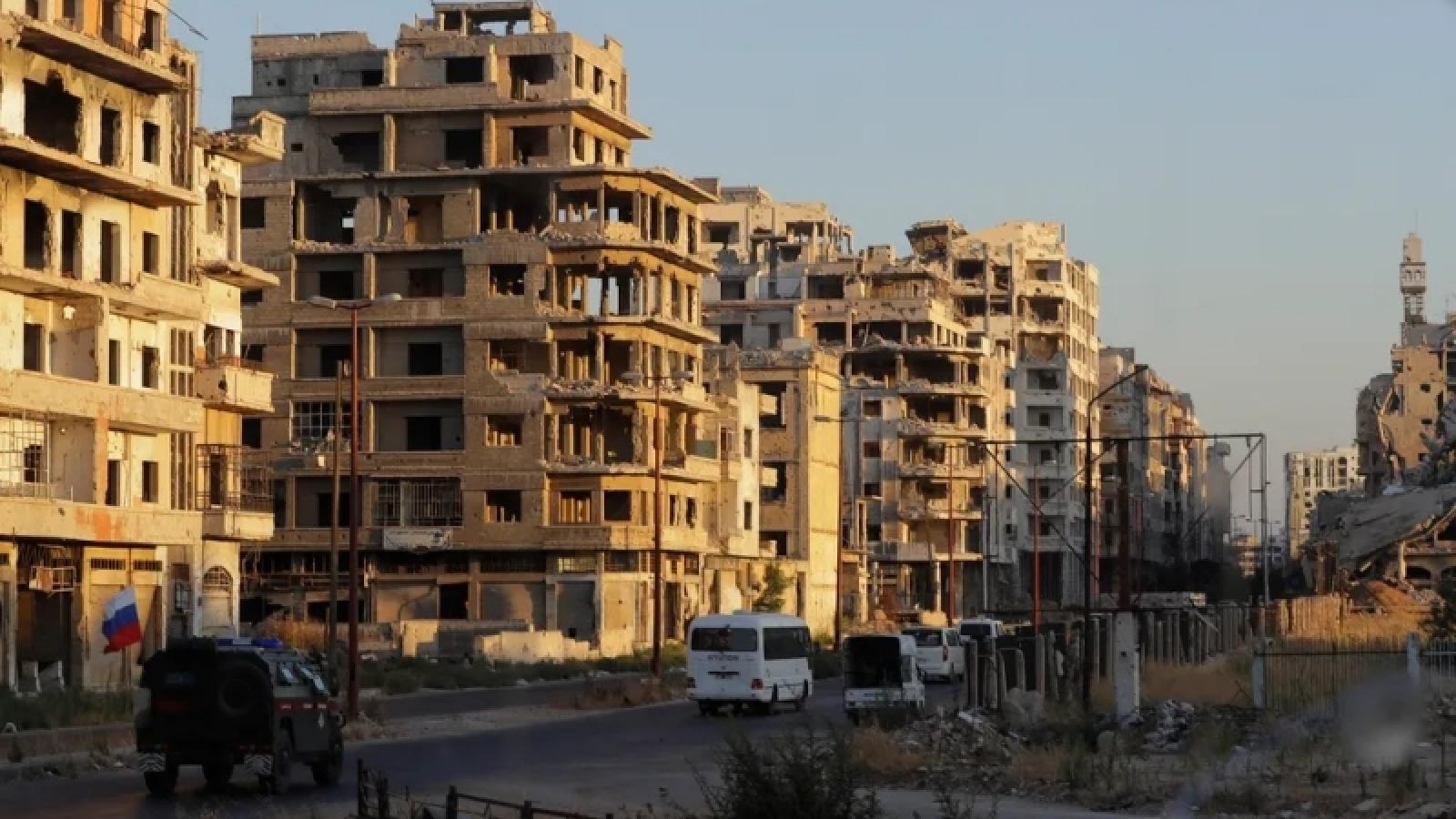 Chiến tranh ở Syria khiến hơn 350.000 người thiệt mạng