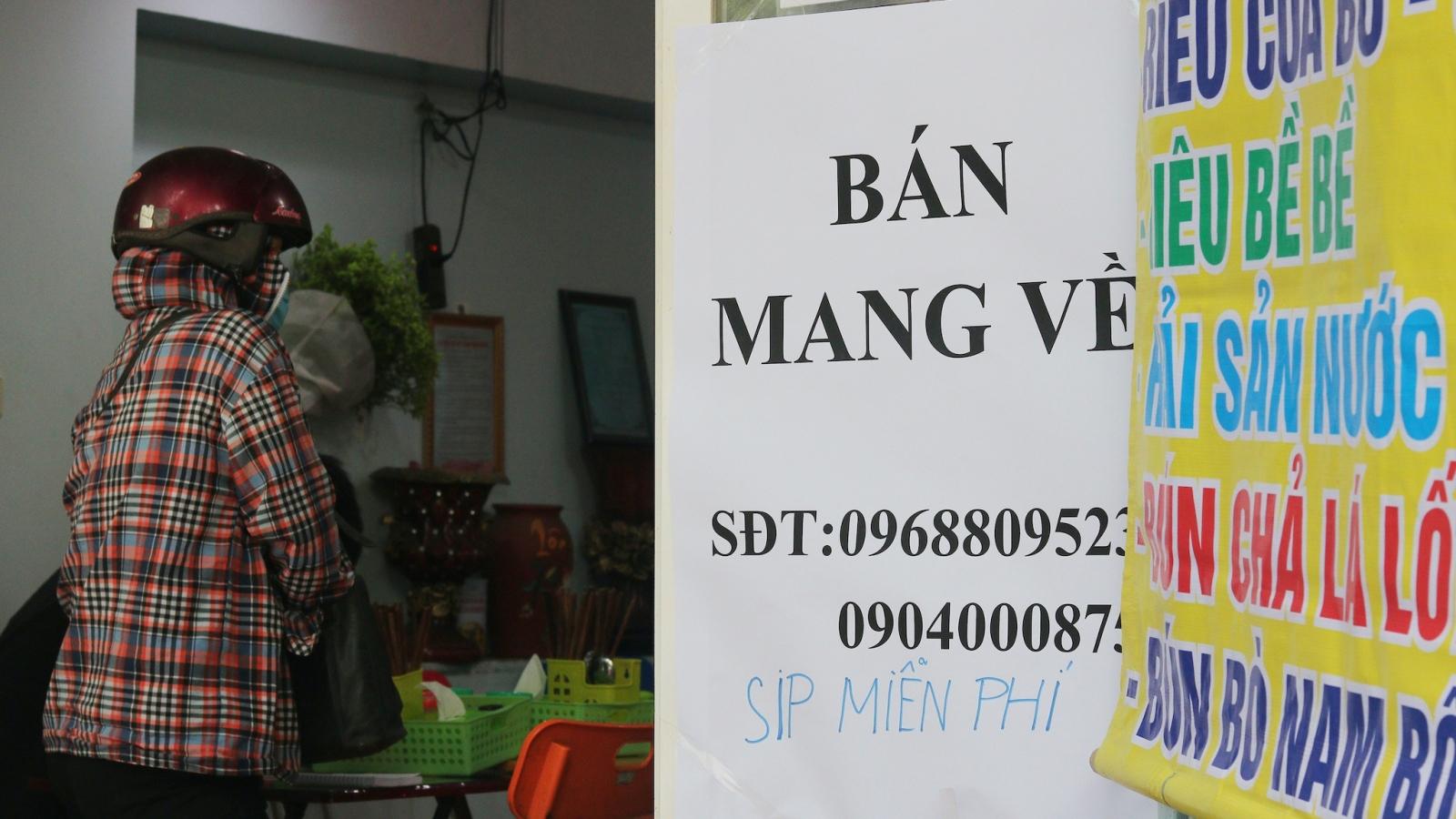 """Hà Nội: Huyện đầu tiên cho phép """"bán hàng ăn mang về"""" tại vùng xanh"""