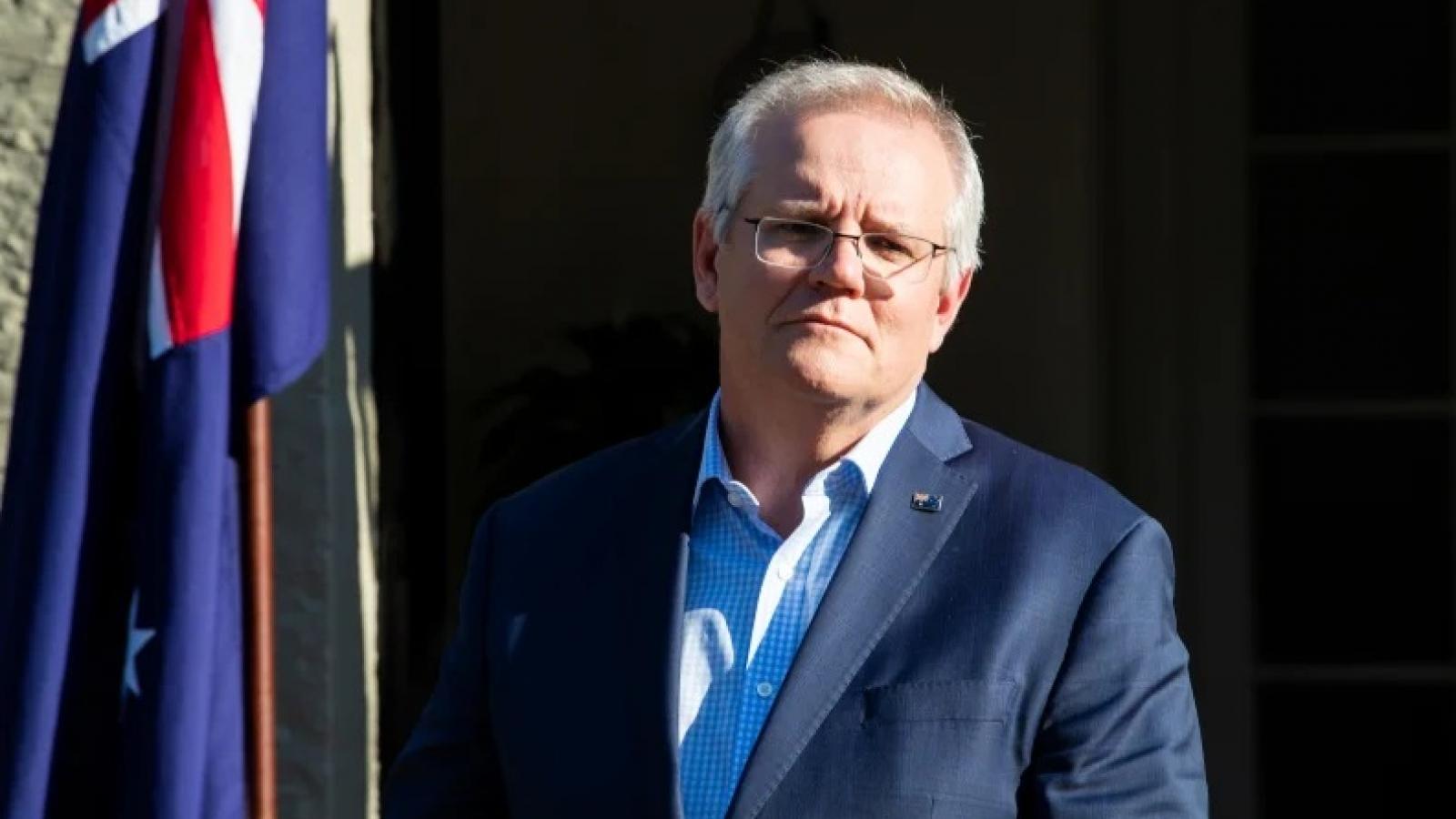 Thủ tướng Australia chờ cơ hội điện đàm với Tổng thống Pháp sau vụ đóng tàu ngầm