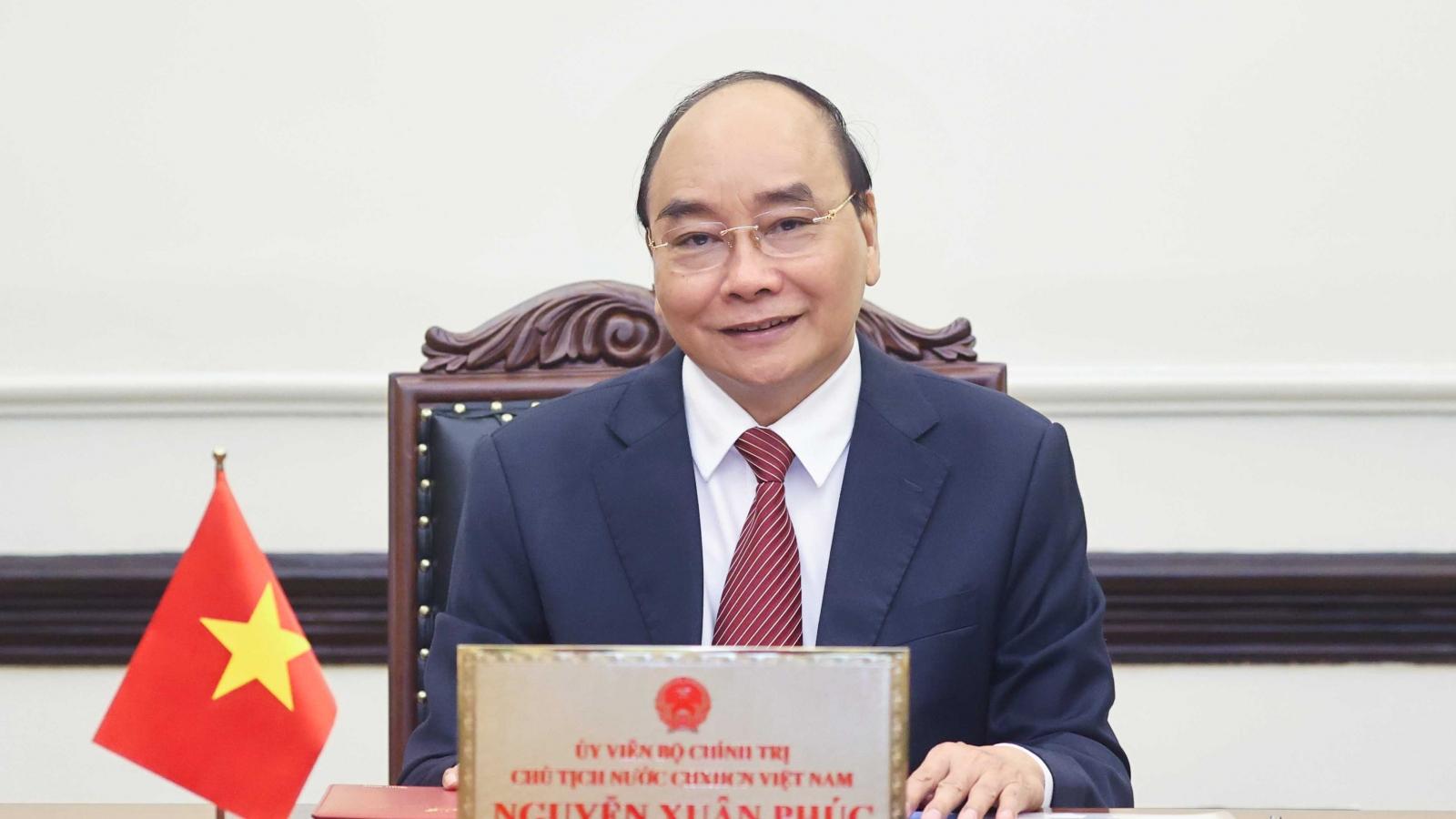 Chủ tịch nước mong Nga đẩy nhanh chuyển giao công nghệ sản xuất vaccine cho Việt Nam