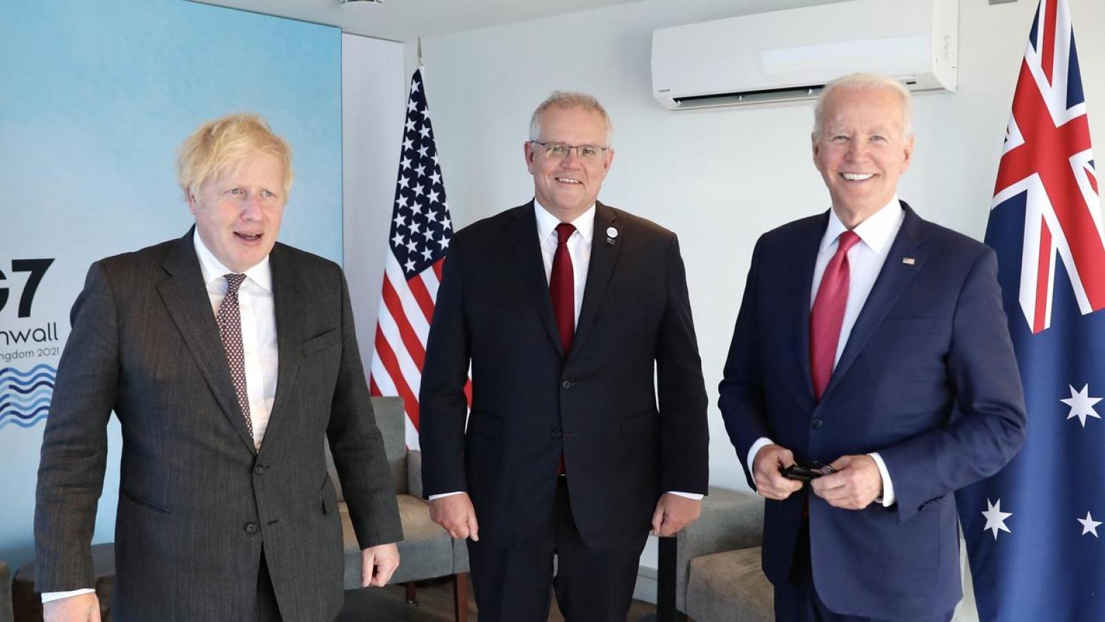 Liên minh AUKUS giữa Australia - Anh - Mỹ và thông điệp gửi tới khu vực