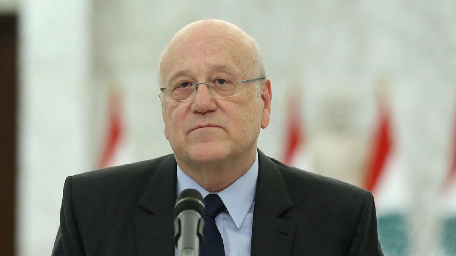 Chính phủ mới của Lebanon ưu tiên khôi phục quan hệ với tất cả các nước