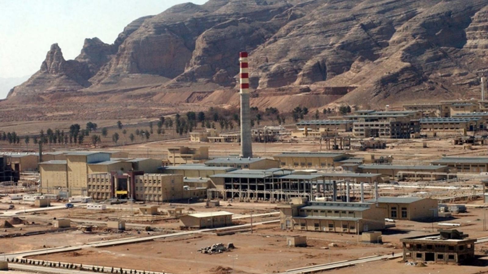 Iran tuyên bố cho phép IAEA sử dụng camera giám sát các địa điểm hạt nhân