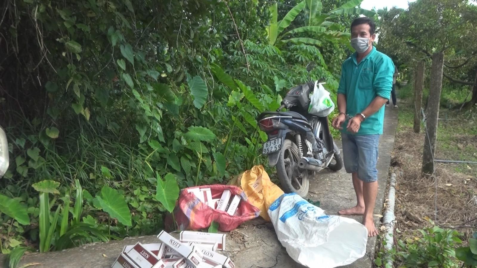 Xử lý 2 đối tượng vận chuyển hơn 2000 gói thuốc lá nhập lậu
