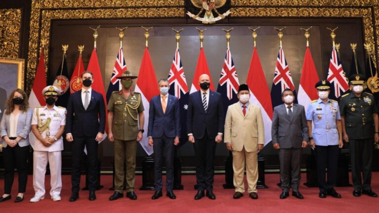 Bộ trưởng Quốc phòng Australia có cuộc gặp song phương với người đồng cấp Indonesia
