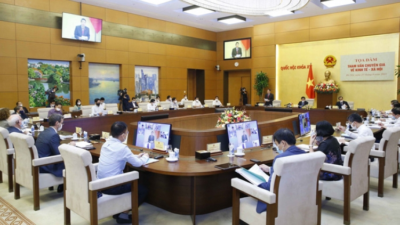 NA consultation on socio-economic affairs