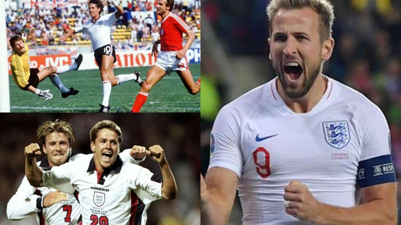 Top 10 chân sút vĩ đại nhất ĐT Anh: Harry Kane tăng tốc mạnh mẽ