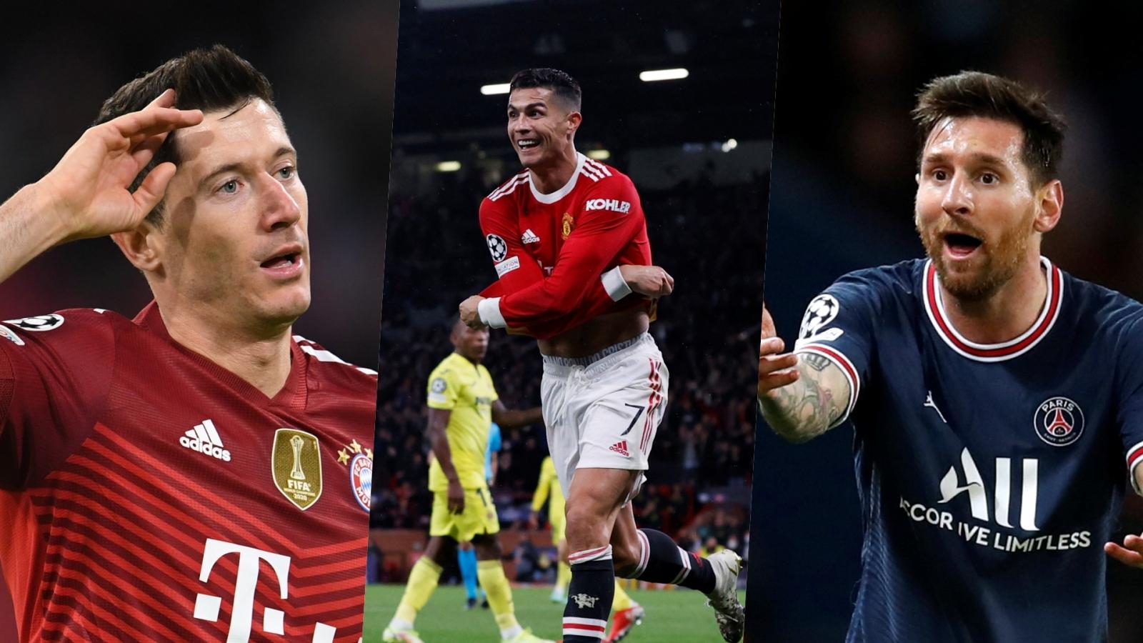 Top 10 chân sút vĩ đại nhất lịch sử Champions League: Ronaldo bỏ xa Messi