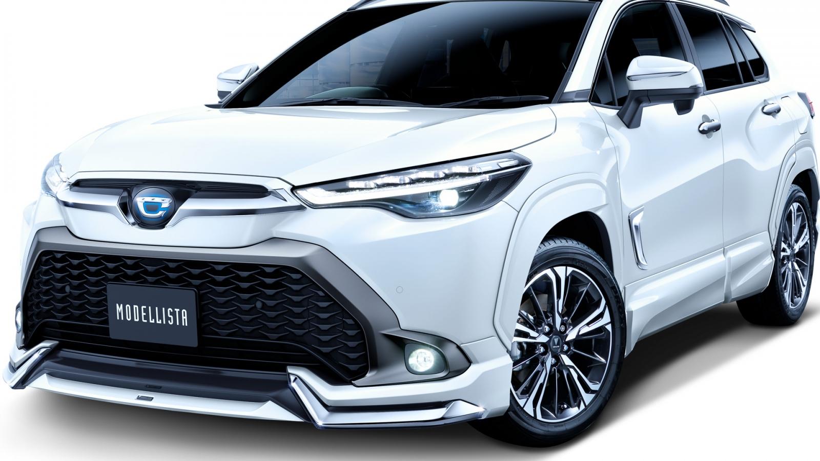 Bộ phụ kiện bắt mắt dành cho Toyota Corolla Cross